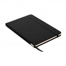 DIN A5 Notizbuch 600D RPET NOTE RPET - schwarz