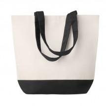 Shopping Tasche Canvas KLEUREN BAG - schwarz