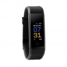 BT 4.0 Fitness Armband MUEVE WATCH - schwarz