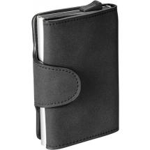 RFID Credit Card Etui schwarz - schwarz
