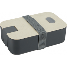 Nachhaltige Lunchbox ECO L2 - natur / grau