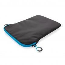 "15.4"" Laptop-Sleeve PVC frei-schwarz/ blau"