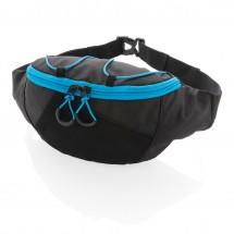 Explorer Ribstop Gürteltasche PVC frei-schwarz/ blau