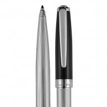 Pierre Cardin®  CHRISTOPHE Drehkugelschreiber silber/schwarz
