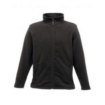 Micro Full Zip Fleece - Black
