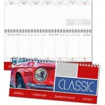 Schreibtischquerkalender Office, deutsch-mehrsprachig