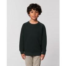 Kinder Sweatshirt Mini Scouter black 3-4