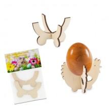 Steck-Eierbecher Huhn - Holz