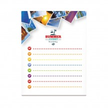 BIC® 101 mm x 130 mm 25 Sheet Adhesive Notepads Ecolutions® weiß