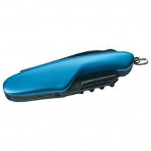Schwarzwolf outdoor® CAVALI blau Kleines Multifunktionsmesser