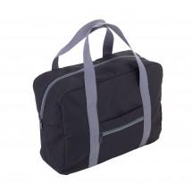 Reisetasche faltbar  TRAVEL PACK - grau, schwarz