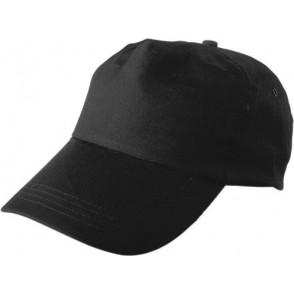 Baseballcap 100% Baumwolle, 5 Panel