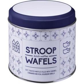 Metalldose für Stroopwafel Amsterdam, 8 Stck.
