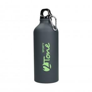Aluminiumflasche Sporty-2Tone gungrey 0,6 l