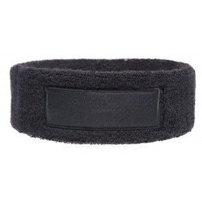 Frottier Stirnband 18 cm mit Label 9*3 cm