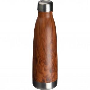 Edelstahl-Isolierflasche Holzoptik Tampa