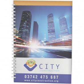 Desk-Mate® A4 Notizbuch Wire-O-Bindung Kunststoff-Umschlag