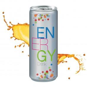 Energy Drink, 250 ml, No Label Look (Alu Look)