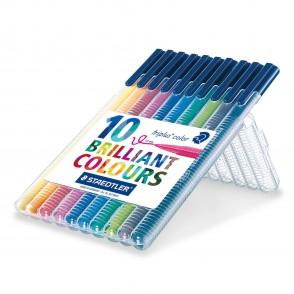 STAEDTLER Box mit 10 triplus color