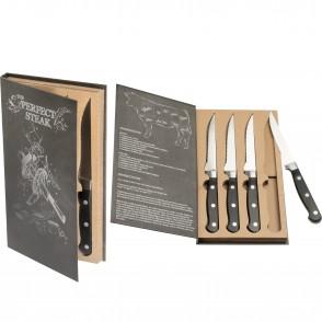 4er Steakmesser-Set London