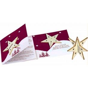 """Sternen-Karte – """"Der Stern des Vertrauens"""""""