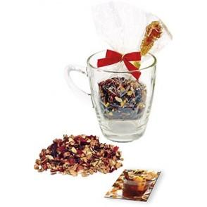 Weihnachts-Teeglas