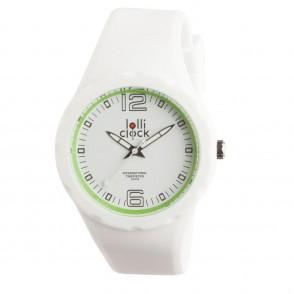 Armbanduhr LOLLICLOCK-FRESH WHITE LIGHT GREEN