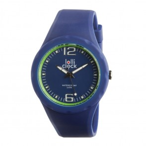 Armbanduhr LOLLICLOCK-FRESH BLUE LIGHT GREEN