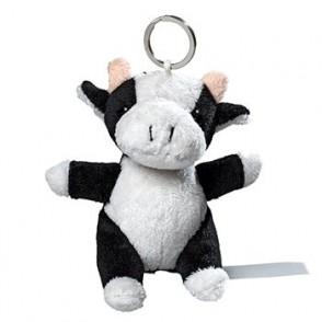 Plüsch Schlüsselanhänger Kuh