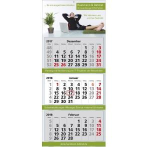 Mehrblock-Wandkalender Classic 3