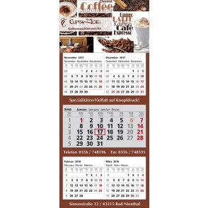 "Mehrblock-Wandkalender ""Combi 5"""