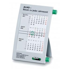 Kunststoff-Tischkalender 6-sprachig