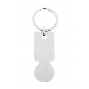 EK-Schlüsselanhänger Style&Shop silber