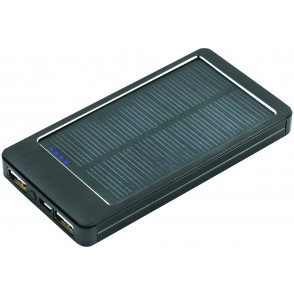 Metmaxx® Solarcharger Solar&ChargePRO schwarz