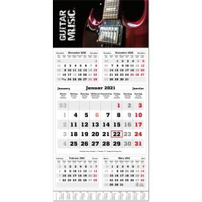 5-Monatsplaner Classic times 5, mit Jahresübersich