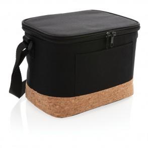 Two-Tone Kühltasche mit Korkdetails