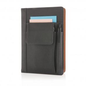 Notizbuch mit Telefontasche