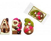 Schokoladentafeln in Weihnachtsmotiv