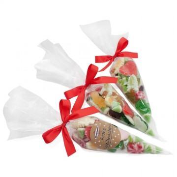 Bonbons und Fruchtgummi mit Logo