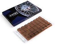 Chocoladereep bedrukken