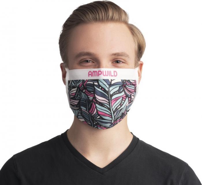 bedruckte Stoffmasken