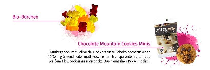 Süße Werbung mit Logo bedrucken