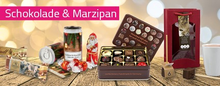 Schokolade und Marzipan von Promostore