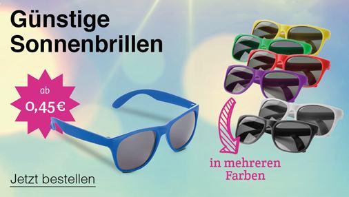 Günstige Sonnenbrillen