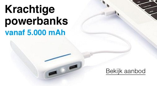 Krachtige Powerbanks