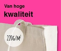 Katoenen tassen van hoge kwaliteit