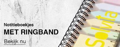 Notitieboek met ringband