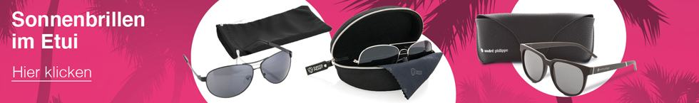 Sonnenbrillen im Etui