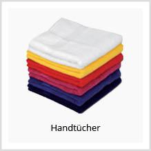 Handtücher als Werbekleidung bedrucken