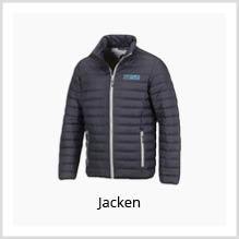 Jacken als Werbekleidung bedrucken